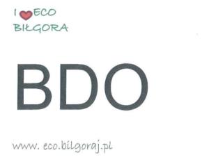 Uwaga – zmiana terminu sprawozdań BDO za rok 2019